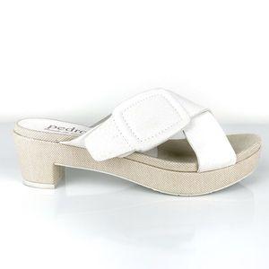 Pedro Garcia Women's Nanette Cross Strap Sandals